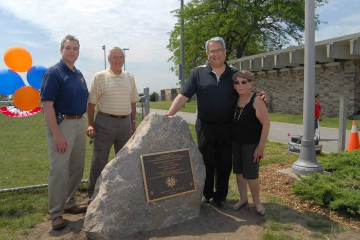 Founders Field at OP Dedication